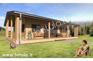 Medinis namas Tulpė