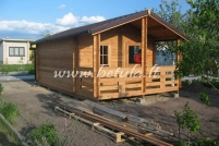 Timber cabin ASTER