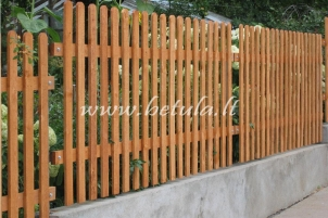 Tvora Elegancija, vienguba statinė tvora